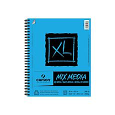 "Canson XL Mixed Media Wire Bound Pad 11"" x 14"" - 60 Sheets"