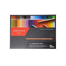 Caran d'Ache Luminance Colored Pencils Set of 40