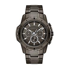 Caravelle Men's Gunmetaltone Chronograph Watch