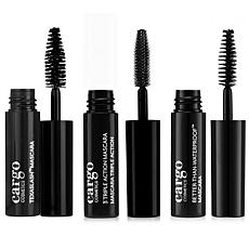 Cargo Cosmetics Mini Mascara Trio