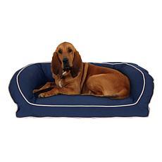 Carolina Pet Lg/XL Classic Canvas Bolster Bed with Orthopedic Foam