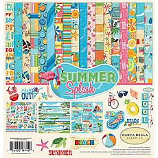 "Carta Bella Collection Kit 12"" x 12"" - Summer Splash"