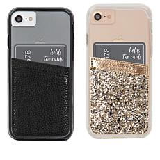 Case-Mate Card Holder Pocket 2-pack for Cell Phones