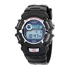 Casio G-Shock Men's Solar-Powered Black Resin Strap Sport Watch