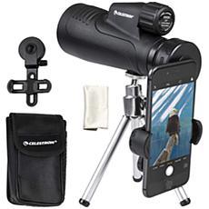 Celestron 20x50mm Outland X Monocular w/Smartphone Adapter & Tripod