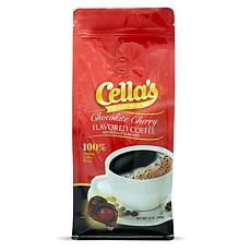 Cellas Chocolate Cherry Ground Coffee Medium Roast 12 oz., 6-pack