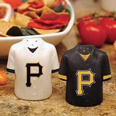 Ceramic Salt and Pepper Shakers - Pittsburgh Pirates