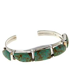 Chaco Canyon Sterling Silver 5-Stone Cuff