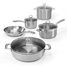 Chantal Induction 21 Steel 9-Piece Cookware Set