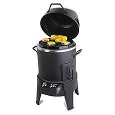 Char-Broil 3-in-1 Roaster, Smoker & Grill w/Rib Hooks