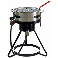 Chard 10.5-Quart Fish and Wing Fryer with Strainer Basket