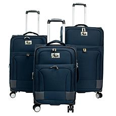 Chariot 3-piece Softside Spinner Luggage Set - Naples