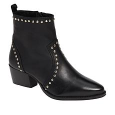 Charles by Chares David Zye Studded Leather Western Bootie
