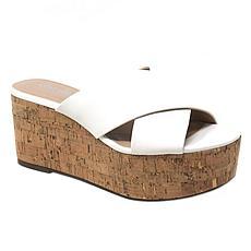 Charles By Charles David Civil Criss-cross Slide Platform Sandal
