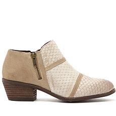 Charles by Charles David Farren Leather Zipper Bootie