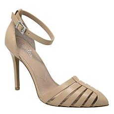 Charles By Charles David Playful Leather Strappy Heeled Sandal