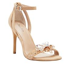 Charles by Charles David Rainey Jeweled Suede Sandal