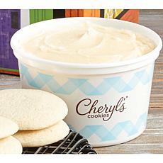 Cheryl's 1lb. Vanilla Buttercream Frosting Tubs 2-pack