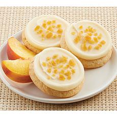 Cheryl's 24-Piece Frosted Peaches 'n Cream Cookies