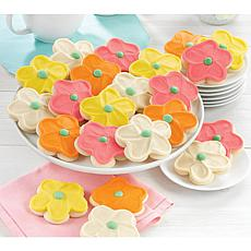 Cheryl's 72-Piece Flower Cutout Cookies