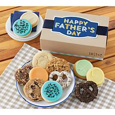 Cheryl's Father's Day 12-Piece Cookie & Pretzel Gift