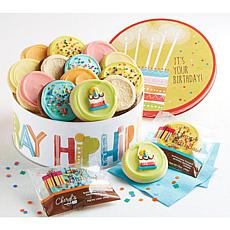 Cheryl's Hip Hip Hooray Birthday Frosted Tin