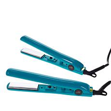 CHI Smart GEMZ Titanium Travel Iron Duo - Aqua