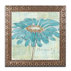 "Chris Paschke ""Spa Daisies I"" Framed Art"
