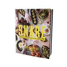 "Chris Santos ""SHARE"" Handsigned Cookbook"