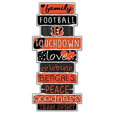 "Cincinnati Bengals Celebrations Stack 24"" Sign"