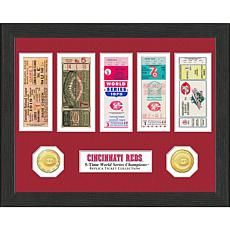 Cincinnati Reds 5-Time World Series Ticket Collection