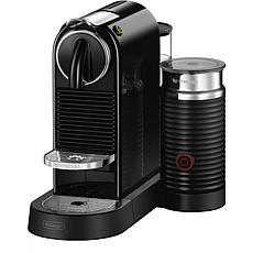 CitiZ   Milk Single-Serve Espresso Machine in Black