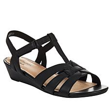 Clarks Collection Abigail Daisy Leather Dress Sandal
