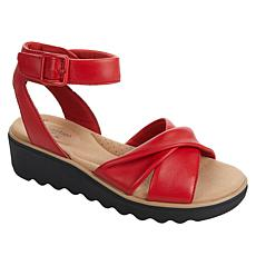 Clarks Collection Jillian Bella Leather Sandal