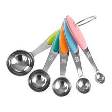 Classic Cuisine 5-piece Measuring Spoons Set