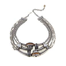 "CLB NYC ""Coronation"" Multi-Row Necklace"