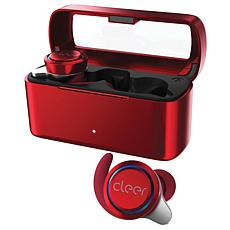 Cleer Ally True Wireless Bluetooth Earbuds - Red