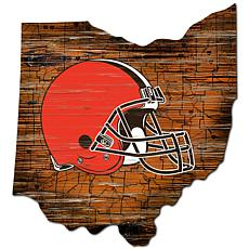 Cleveland Browns Distressed State with Logo