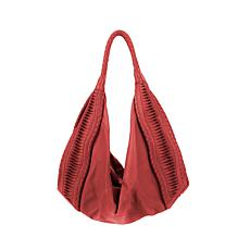 Clever Carriage Company St. Tropez Leather Hobo