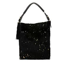 Clever Carriage Embossed Haircalf Hobo