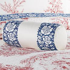 Clever Carriage Home 100% Cotton Cross Stitch Neckroll