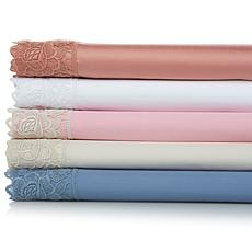 Clever Carriage Home 400TC Burano Rose Sheet Set
