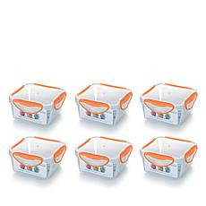 ClipFresh 12-piece 36 oz. Food Storage Container Set