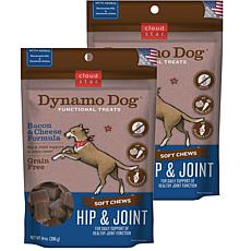 Cloud Star  Dynamo Dog Hip & Joint - Bacon & Cheese 14 oz Functiona...