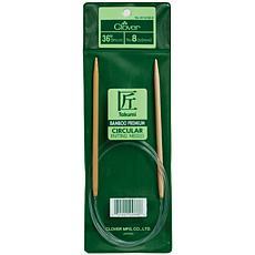 "Clover 36"" Bamboo Circular Knitting Needles - Size 6"