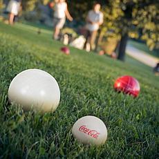 Coca Cola Bocce Ball Set - Regulation Size