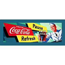 "Coca-Cola ""Coke Waiter"" Canvas Art"