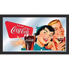 "Coca-Cola ""Couple Enjoying Coke"" Horizontal Mirror"