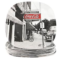 "Coca-Cola Sophistication 10.5"" Dinner Plate"