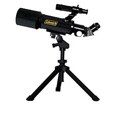 Coleman AT70 AstroWatch 70mm Refractor Telescope with Portable Tripod